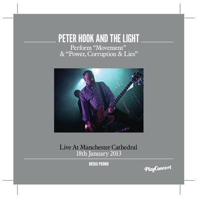 Breathing New Life Into Power and Movement–Peter Hook and the Light Live at Manchester Cathedral