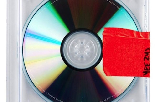 Kanye West's new album cover: Yeezus, does that look lazy…