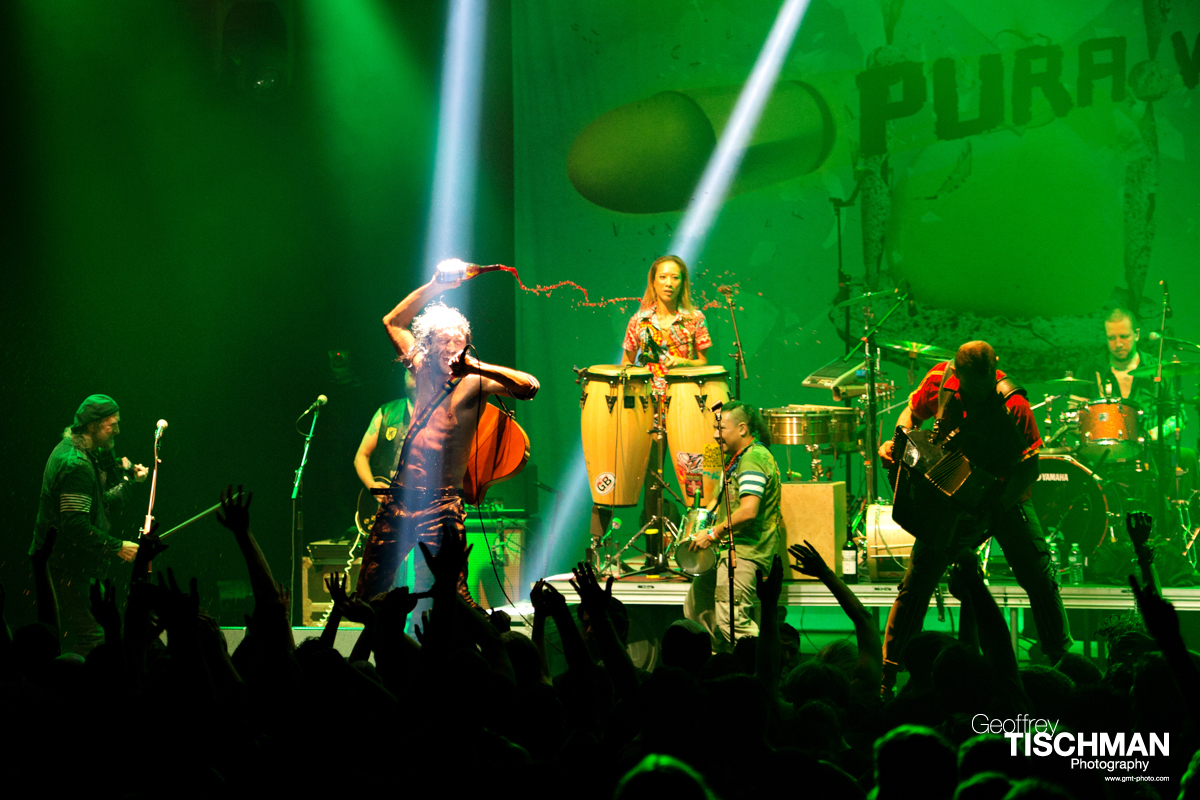 Gogol Bordello at the Capitol Theatre, Port Chester, New York