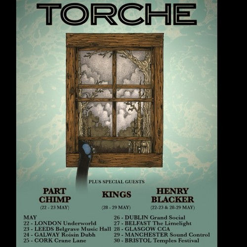 Torche to Release New Album on February 24, 2015 and to Tour the UK in May