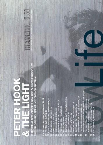 Peter Hook & The Light Begin Their US Tour