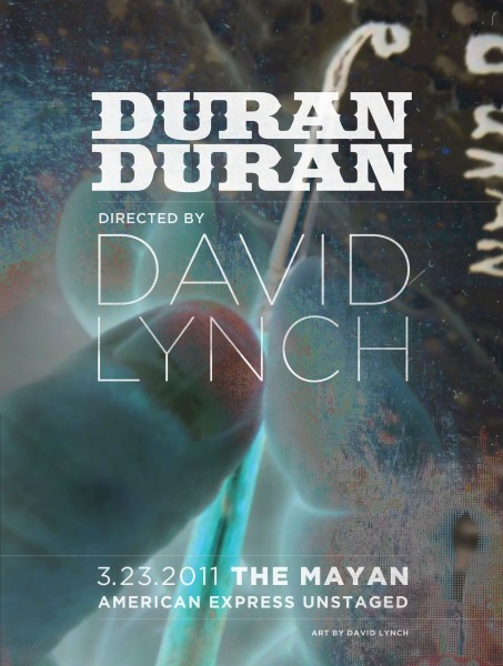 Available Now on Netflix: David Lynch Re-Imagines Duran Duran