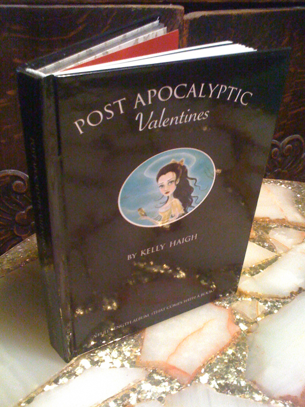 A Giggle Past The Graveyard: Kelly Haigh's Post Apocalyptic Valentines