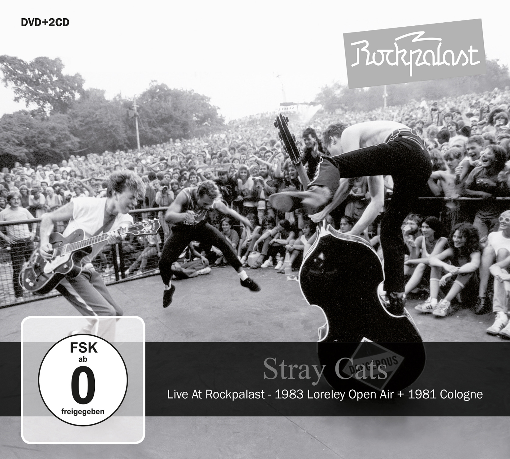 "The Eternal Teenage Tremble of the Rock'n'roll Heart – Stray Cats ""Live at Rockpalast"""