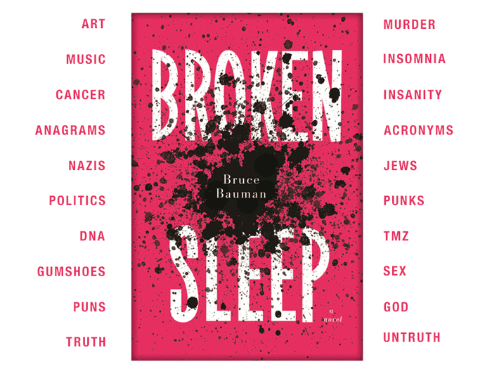 A Post-Punk Mosaic Of Modern History: Bruce Bauman's Broken Sleep