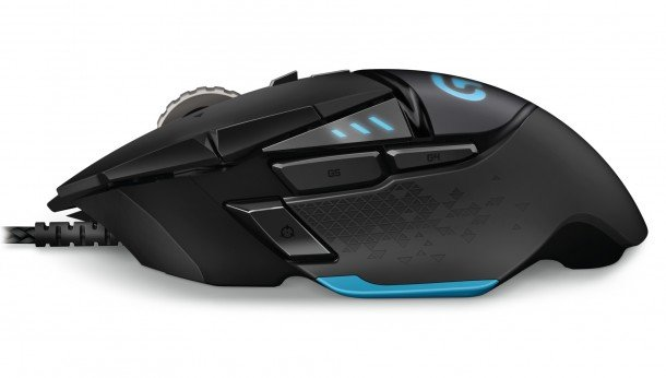 The Logitech Proteus Core G502 Tuneable Gaming Mouse: Thoughtful, Responsive And Optically Solid