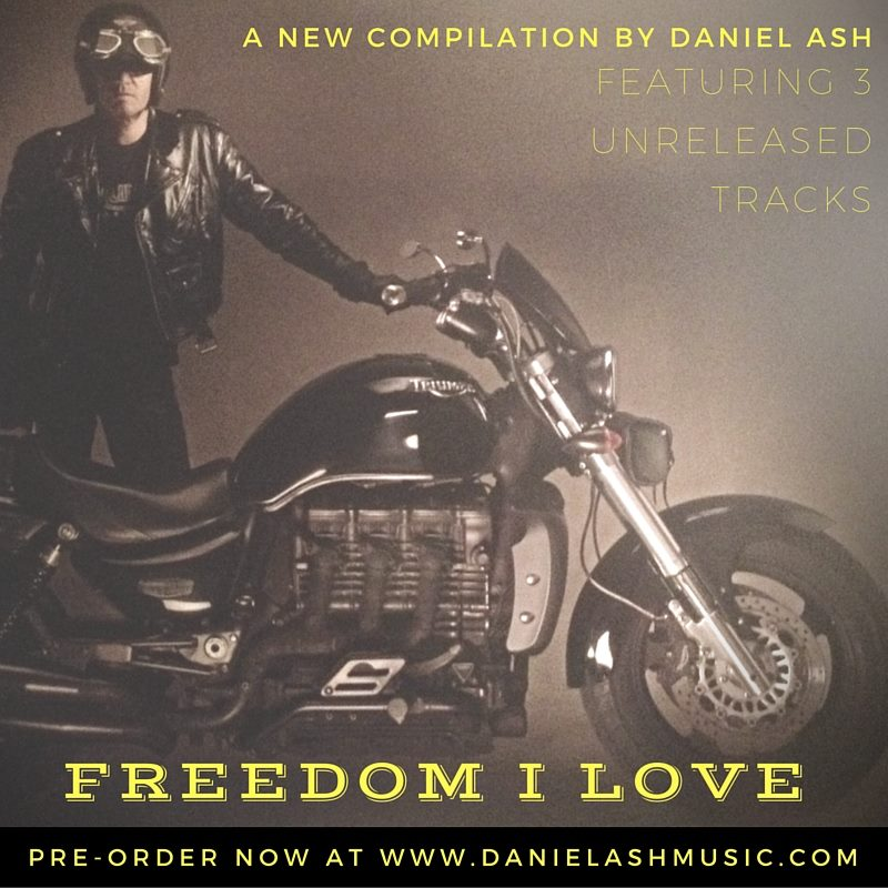 Daniel Ash (Love And Rockets/Bauhaus) Set To Release Limited Edition Compilation + Three New Songs