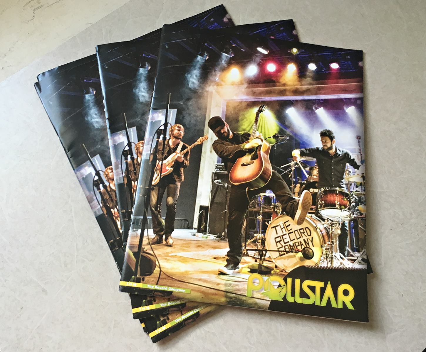 Stereo Embers' Geoff Tischman Lands The Cover Of Pollstar