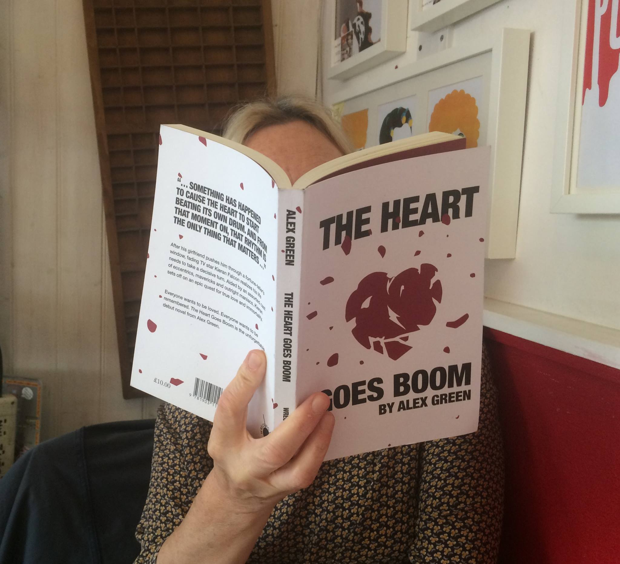 Alex Green To Read From The Heart Goes Boom At A Great Good Place For Books