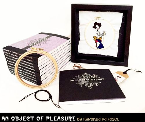 Rock Noir Singer-Songwriter Rykarda Parasol To Release Embroidery-Illustrated Poetry Book