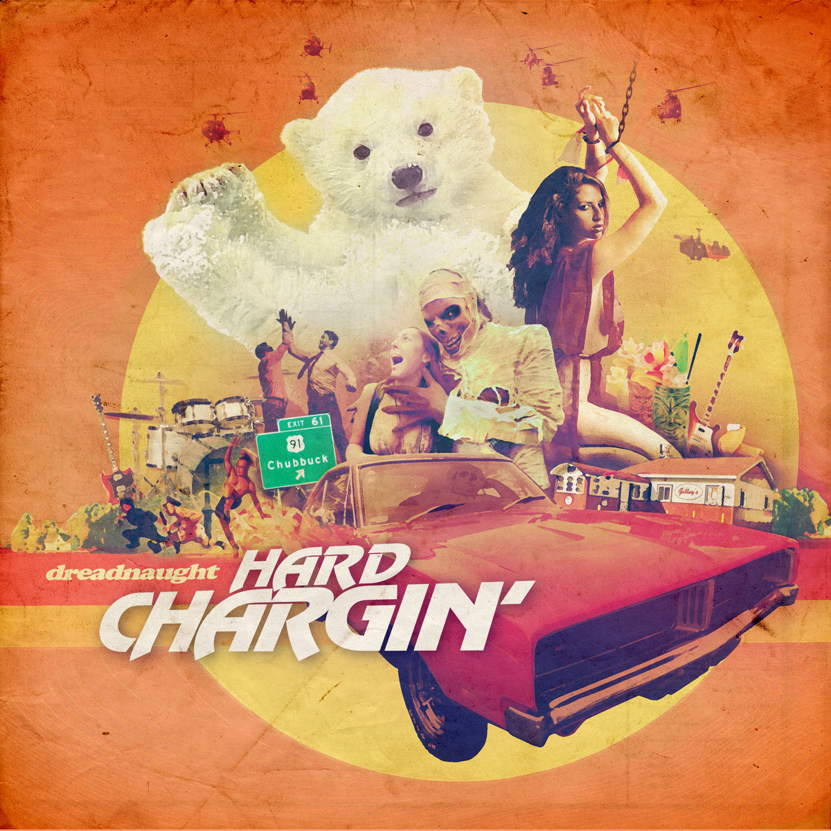 "Scarfin' it Down With Dreadnaught on Their New Album ""Hard Chargin'"""