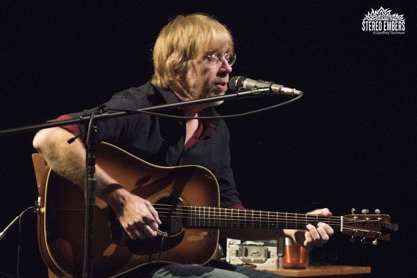 Trey Anastasio Solo, Acoustic And Live In New Jersey