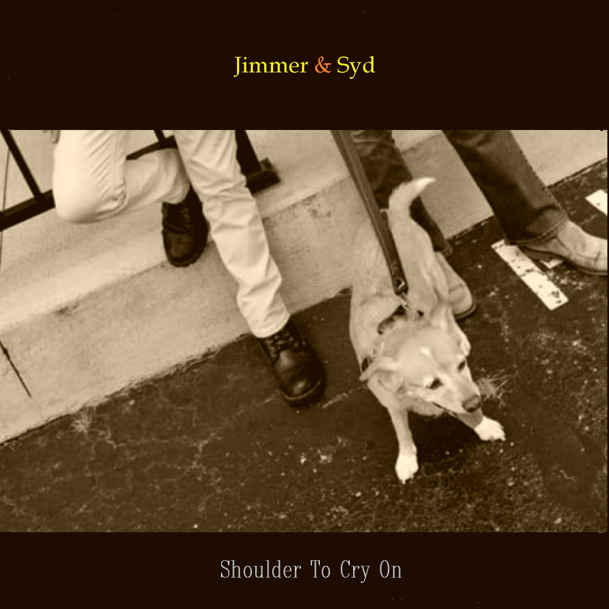 Feeling Steady In A Wobbly World: Jimmer and Syd's Shoulder To Cry On