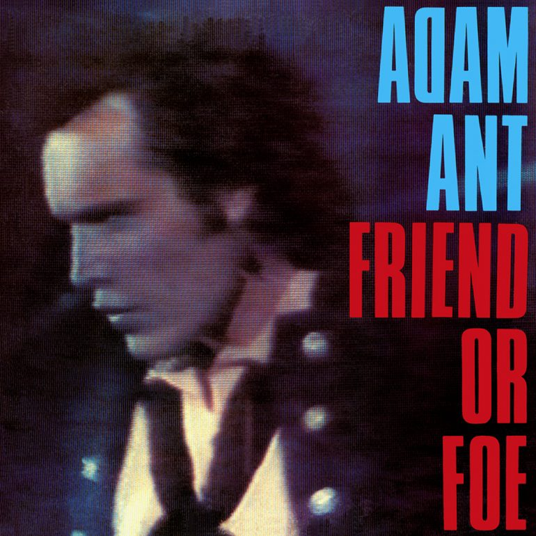 "Adam Ant Announces ""Friend Or Foe"" U.S. Tour"