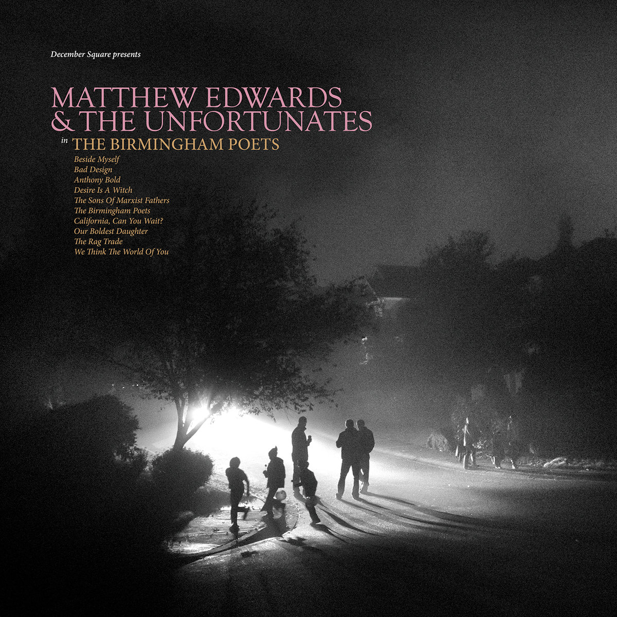 "Stereo Embers' TRACK OF THE DAY: Matthew Edwards And The Unfortunates' ""California, Can You Wait?"""
