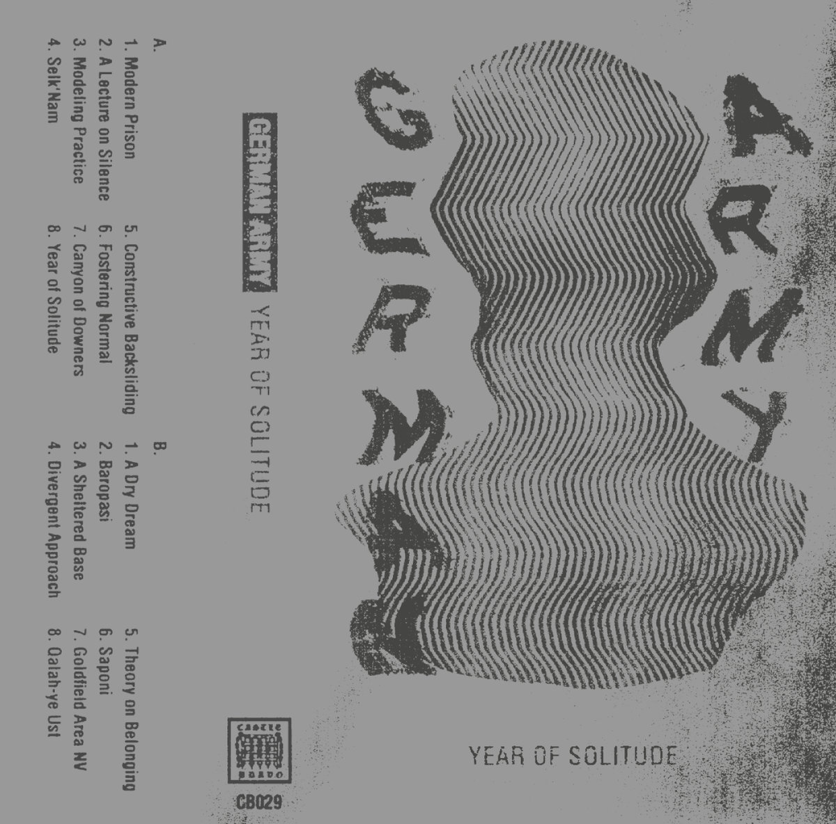 "Forty of This Year's Most Satisfying Moments – ""Year of Solitude"" by German Army"