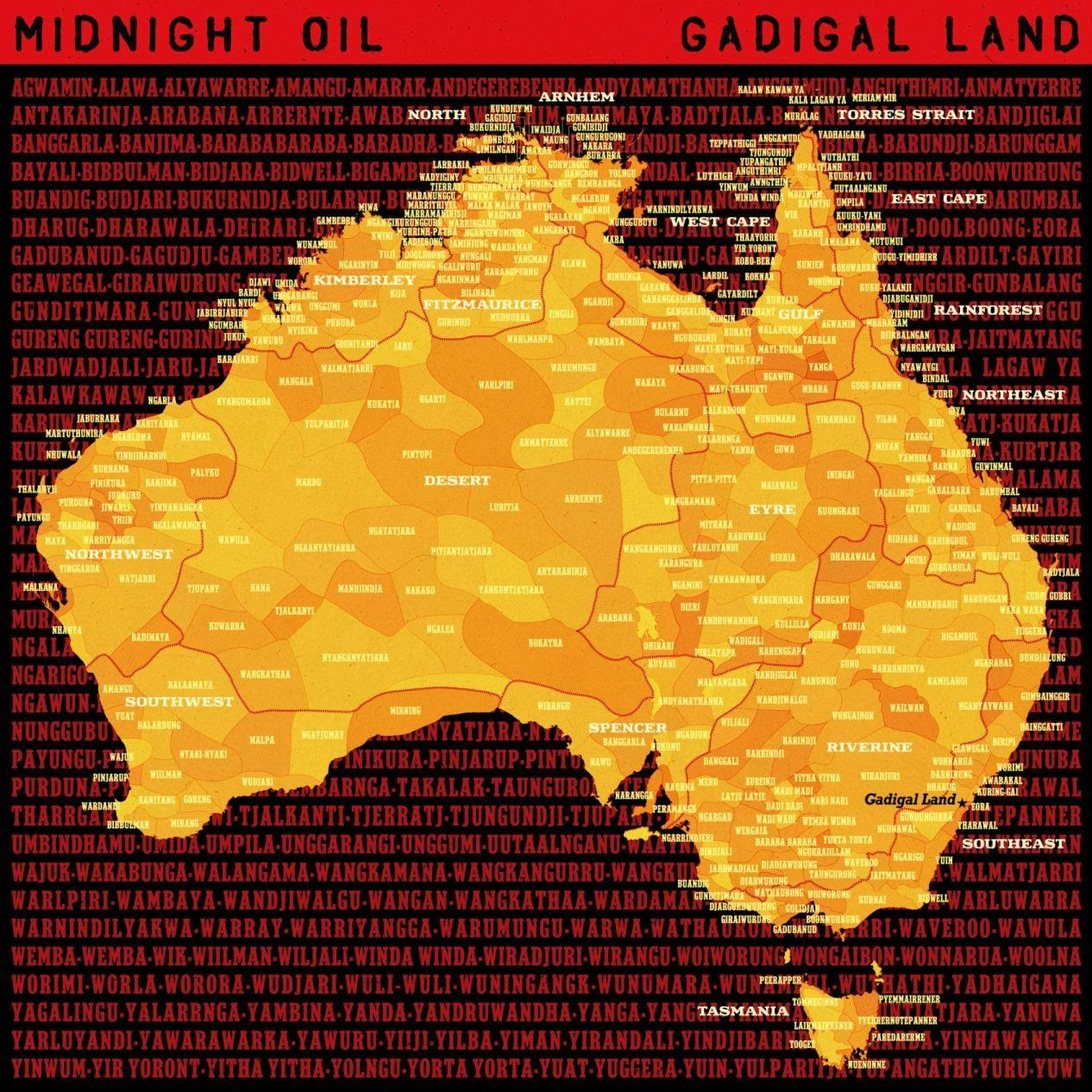 "Midnight Oil Roar Back With New Single ""Gadigal Land"""