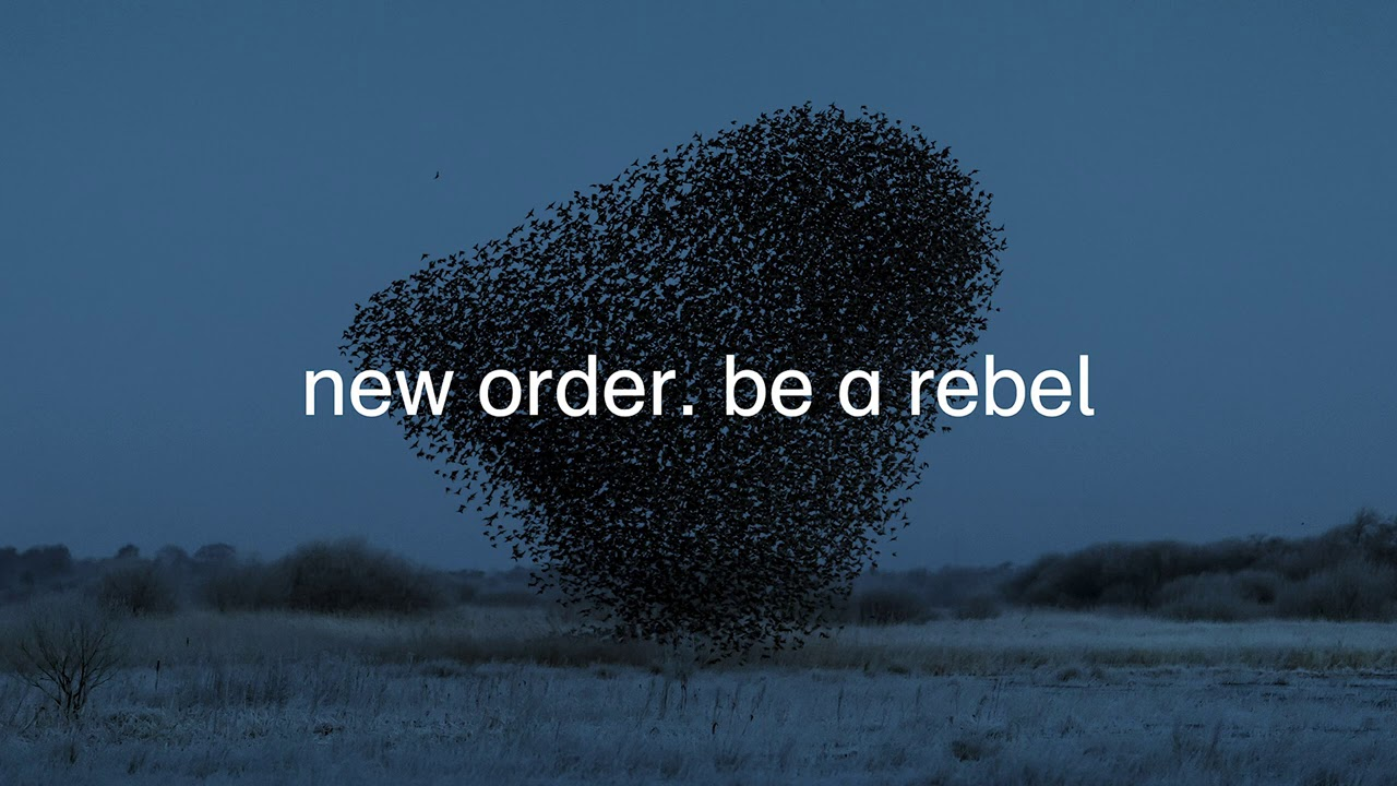 "Stereo Embers' TRACK OF THE DAY: New Order's ""Be A Rebel"""